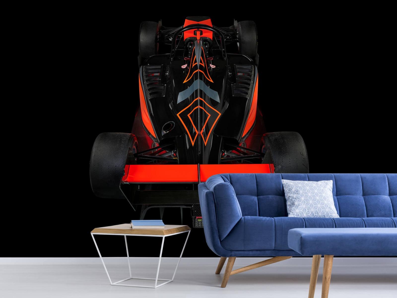 Sportauto's - Formule 3 - Rear view - dark - Tienerkamer 4