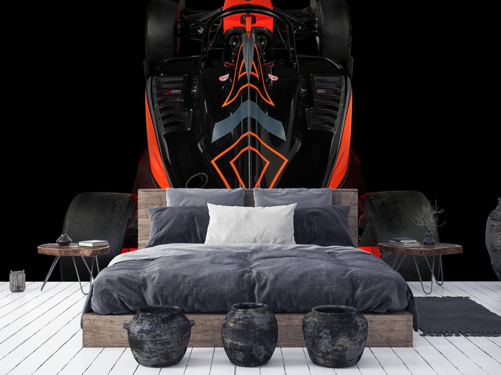 Sportauto's - Formule 3 - Rear view - dark - Tienerkamer 5