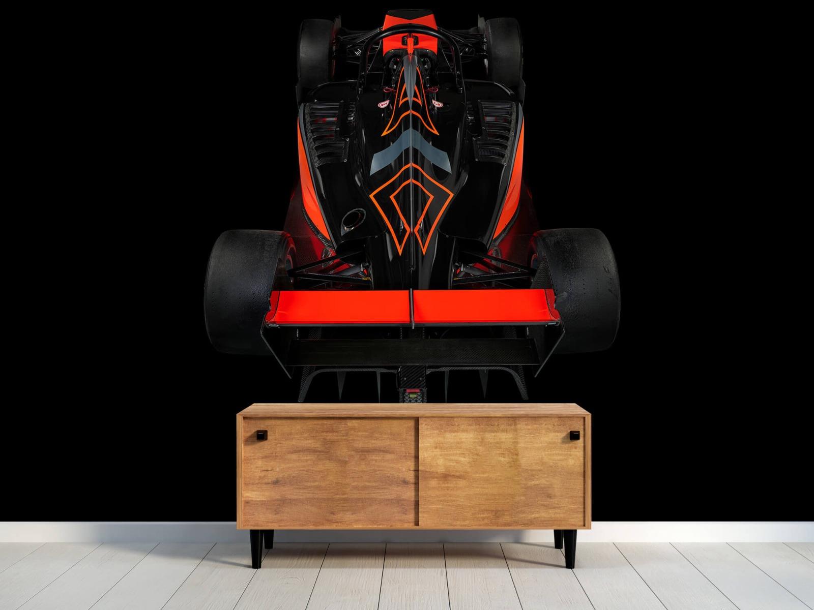Sportauto's - Formule 3 - Rear view - dark - Tienerkamer 9