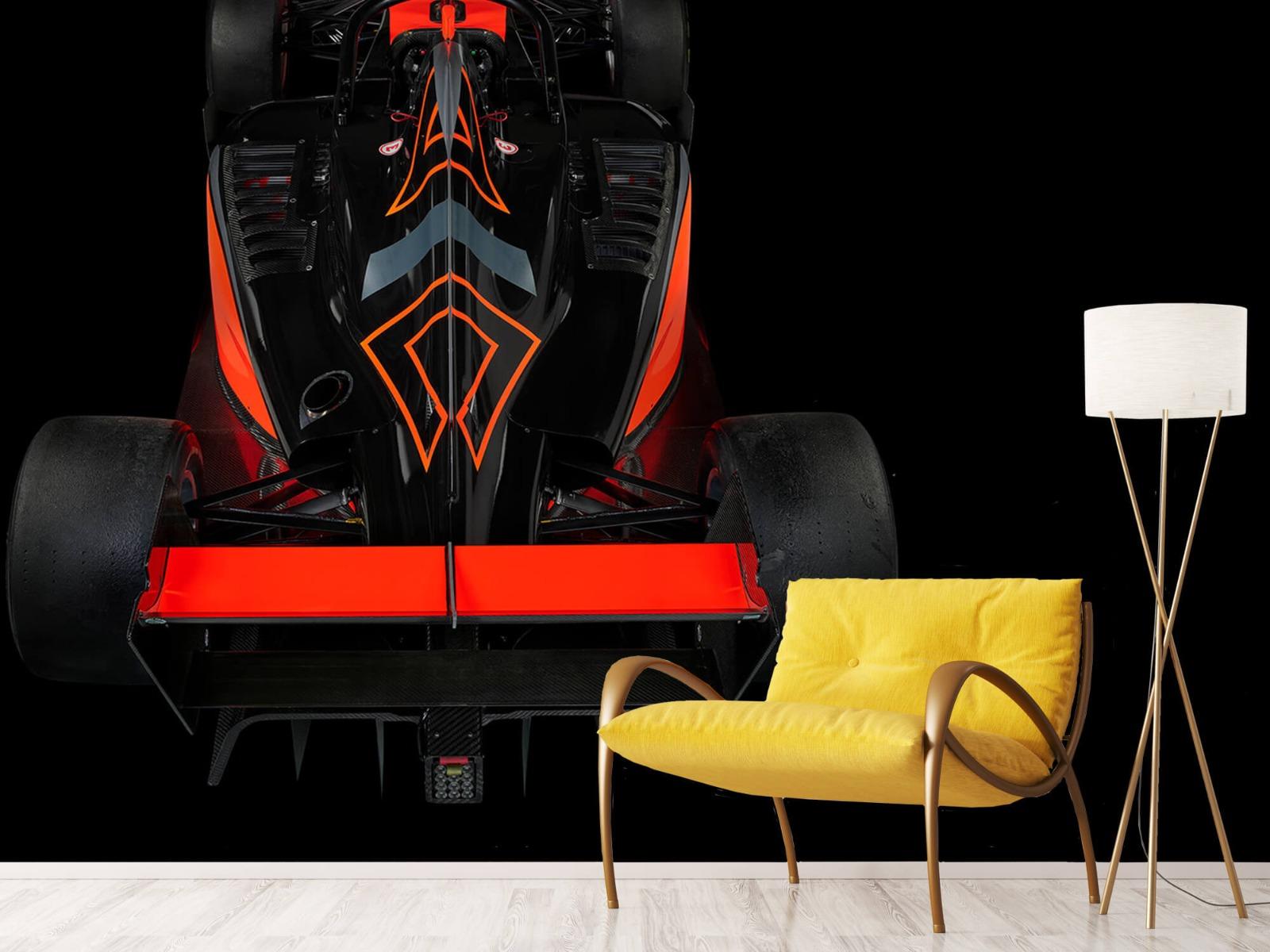 Sportauto's - Formule 3 - Rear view - dark - Tienerkamer 10