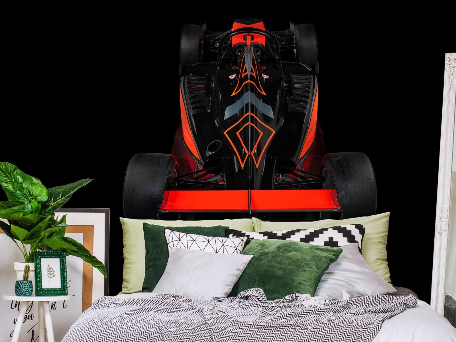 Sportauto's - Formule 3 - Rear view - dark - Tienerkamer 12