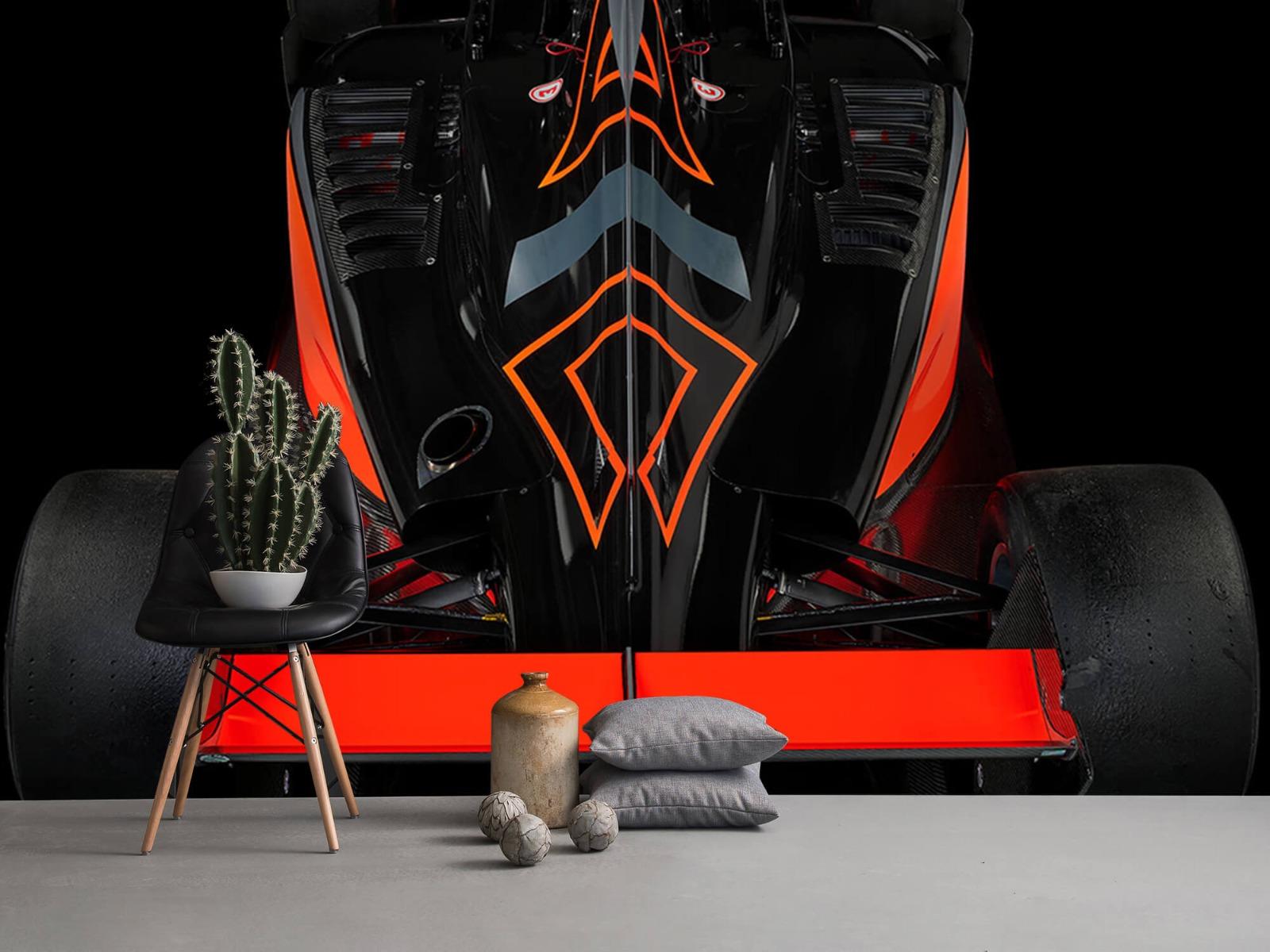 Sportauto's - Formule 3 - Rear view - dark - Tienerkamer 13