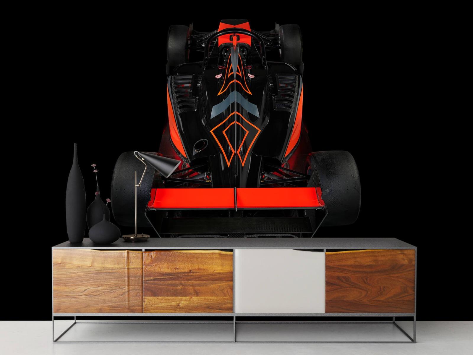 Sportauto's - Formule 3 - Rear view - dark - Tienerkamer 16