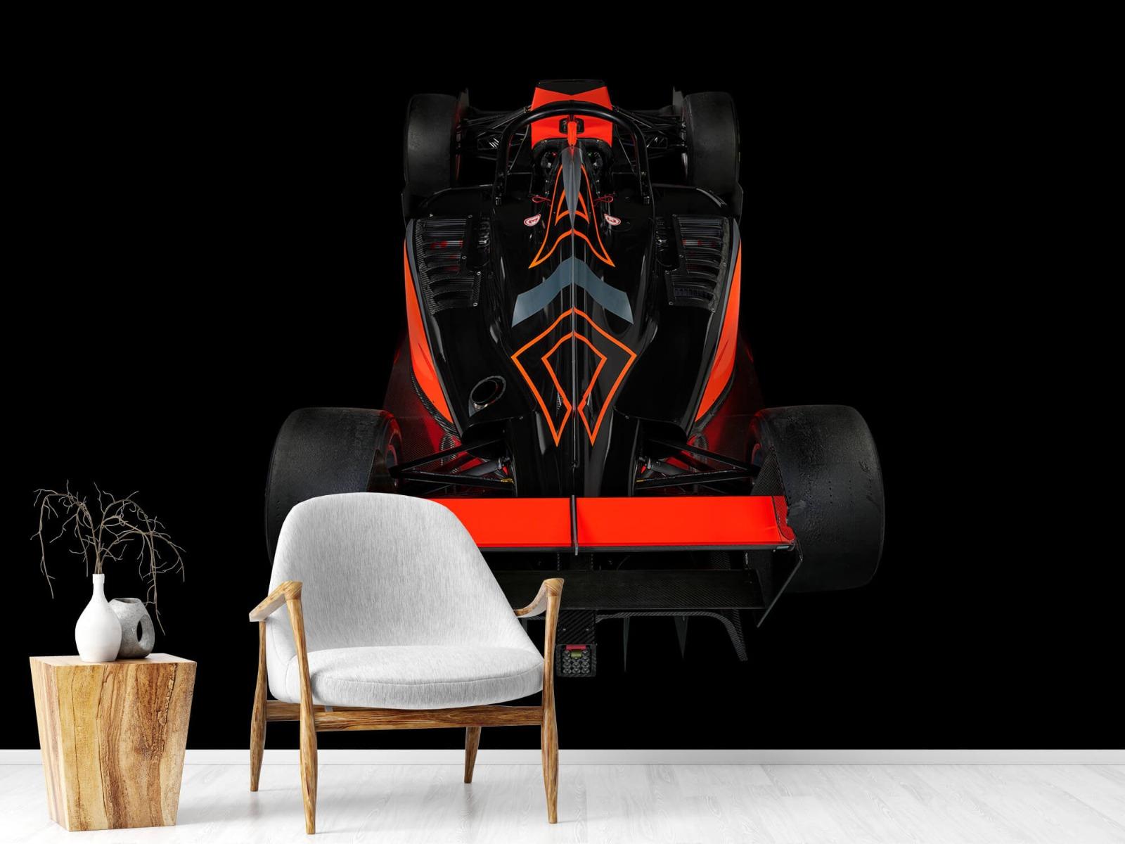 Sportauto's - Formule 3 - Rear view - dark - Tienerkamer 18
