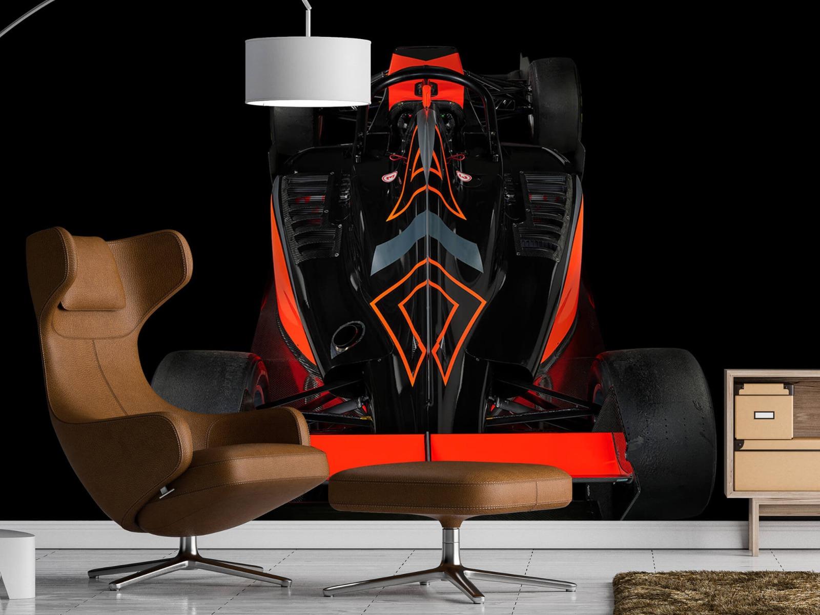 Sportauto's - Formule 3 - Rear view - dark - Tienerkamer 19