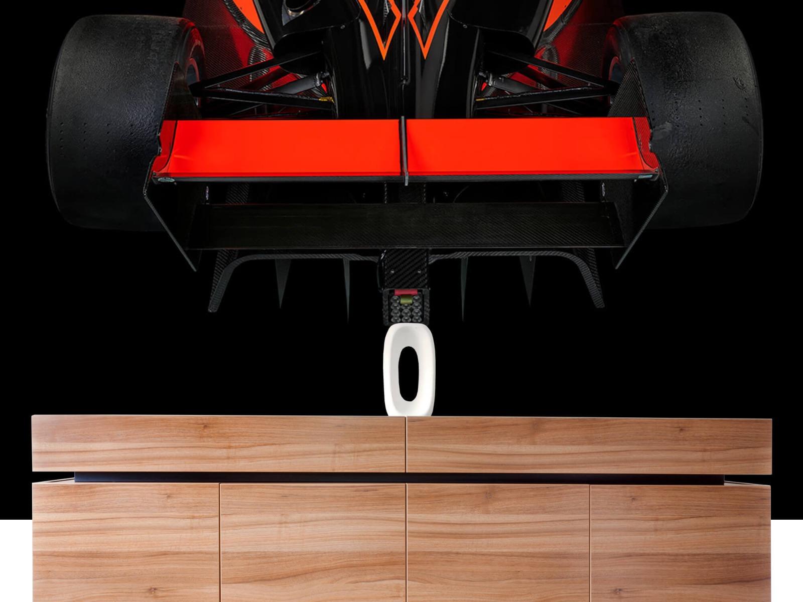 Sportauto's - Formule 3 - Rear view - dark - Tienerkamer 20
