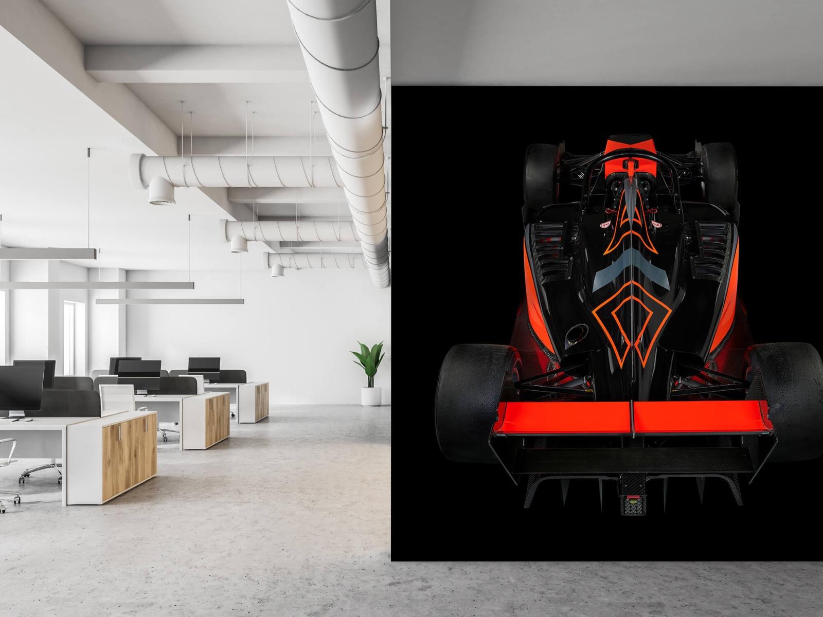 Sportauto's - Formule 3 - Rear view - dark - Tienerkamer 21