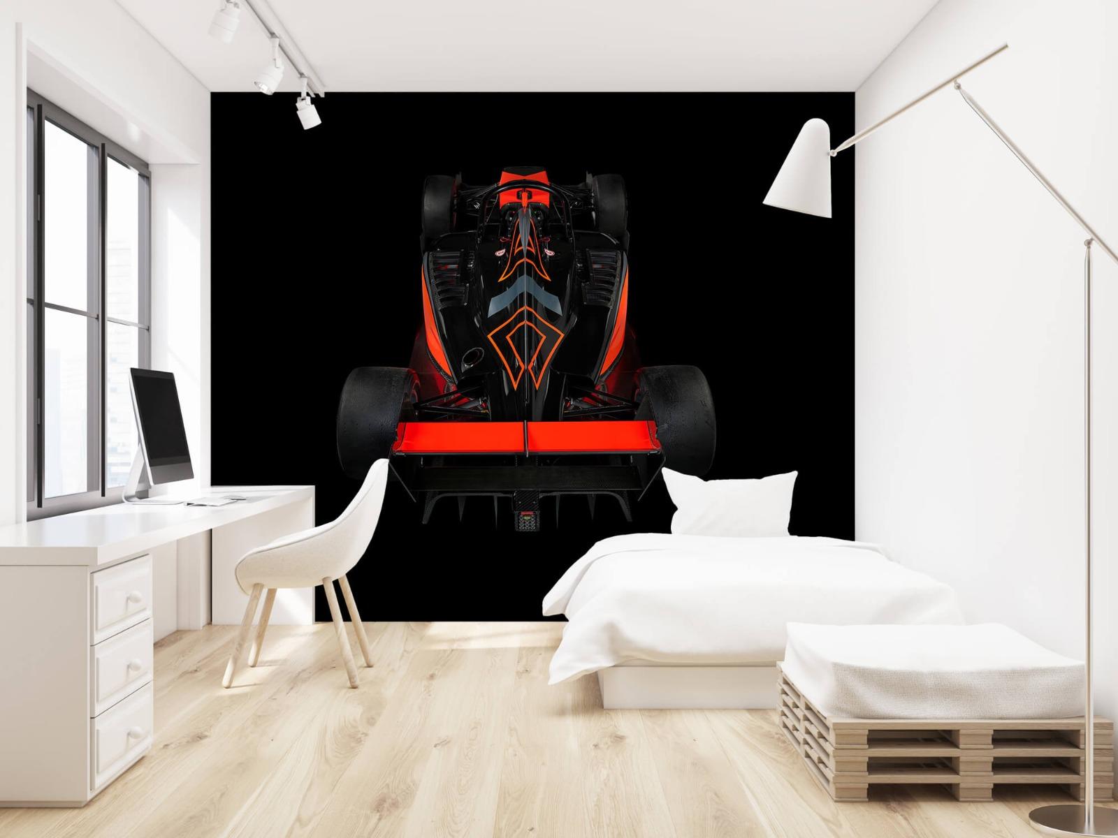 Sportauto's - Formule 3 - Rear view - dark - Tienerkamer 22