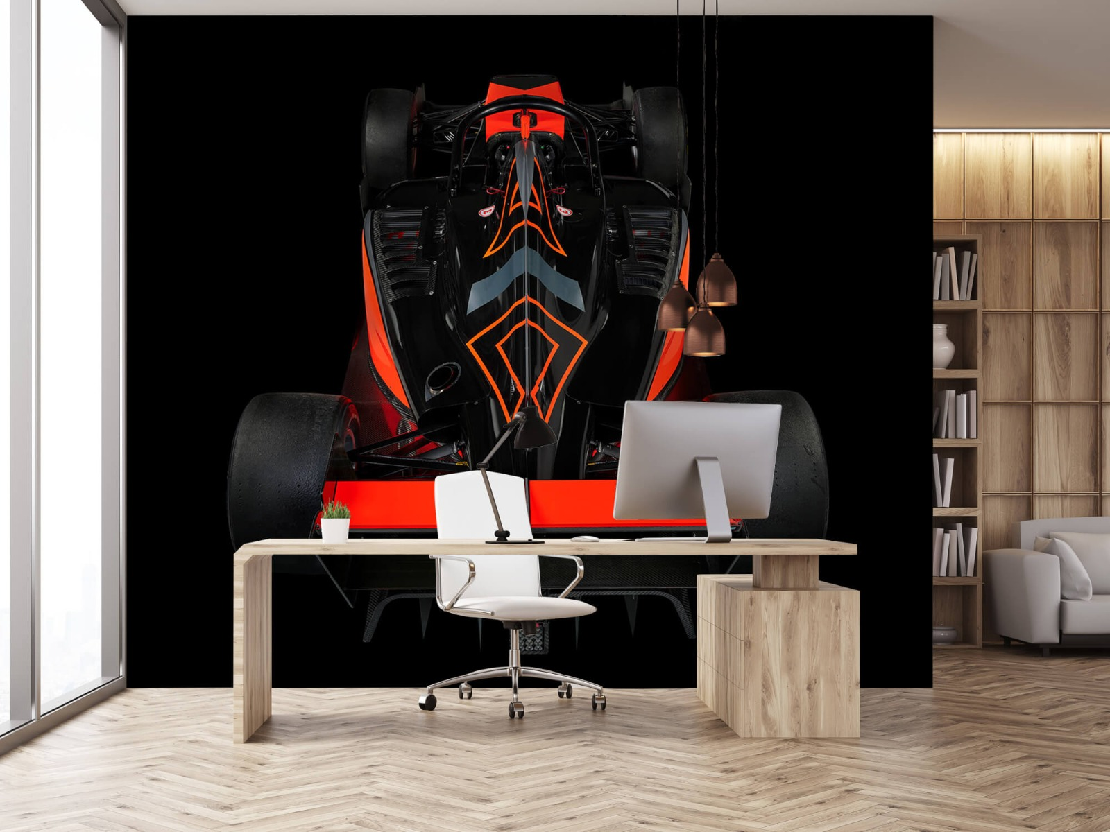 Sportauto's - Formule 3 - Rear view - dark - Tienerkamer 24