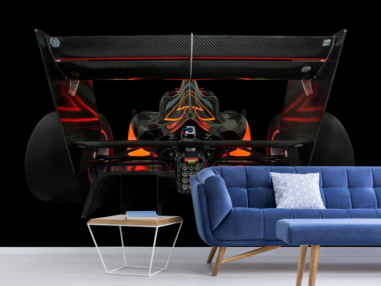 Sportauto's - Formule 3 - Lower rear view - dark - Garage 5