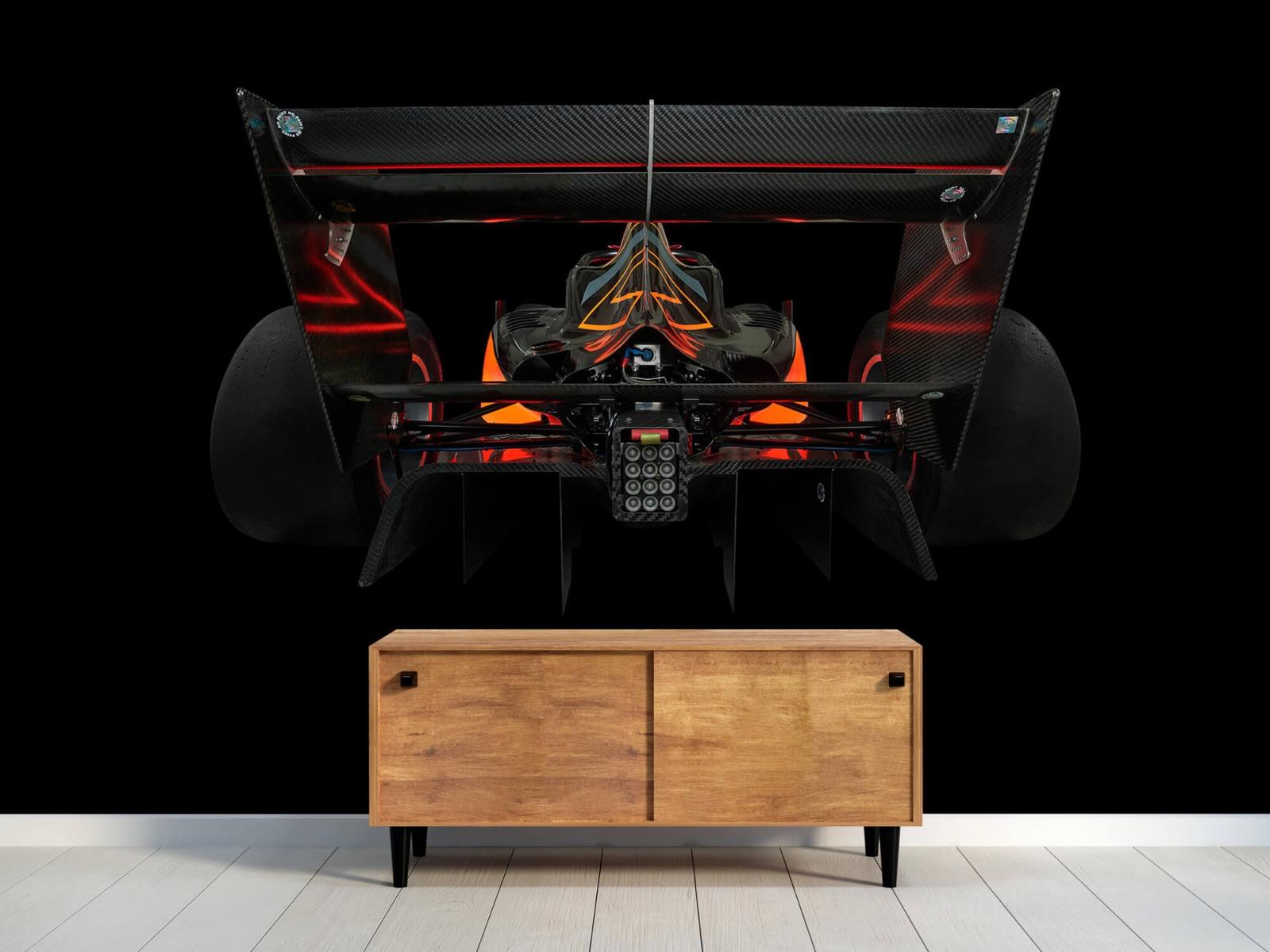 Sportauto's - Formule 3 - Lower rear view - dark - Garage 9