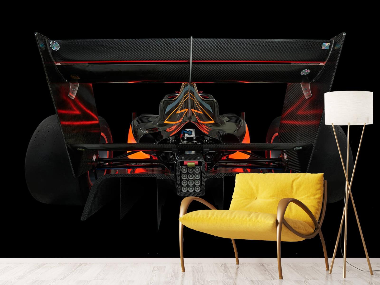 Sportauto's - Formule 3 - Lower rear view - dark - Garage 10