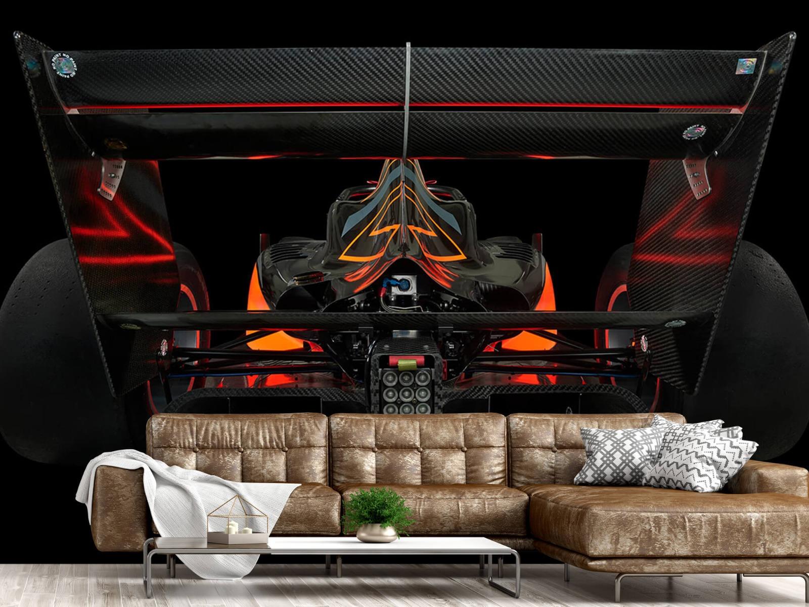 Sportauto's - Formule 3 - Lower rear view - dark - Garage 13