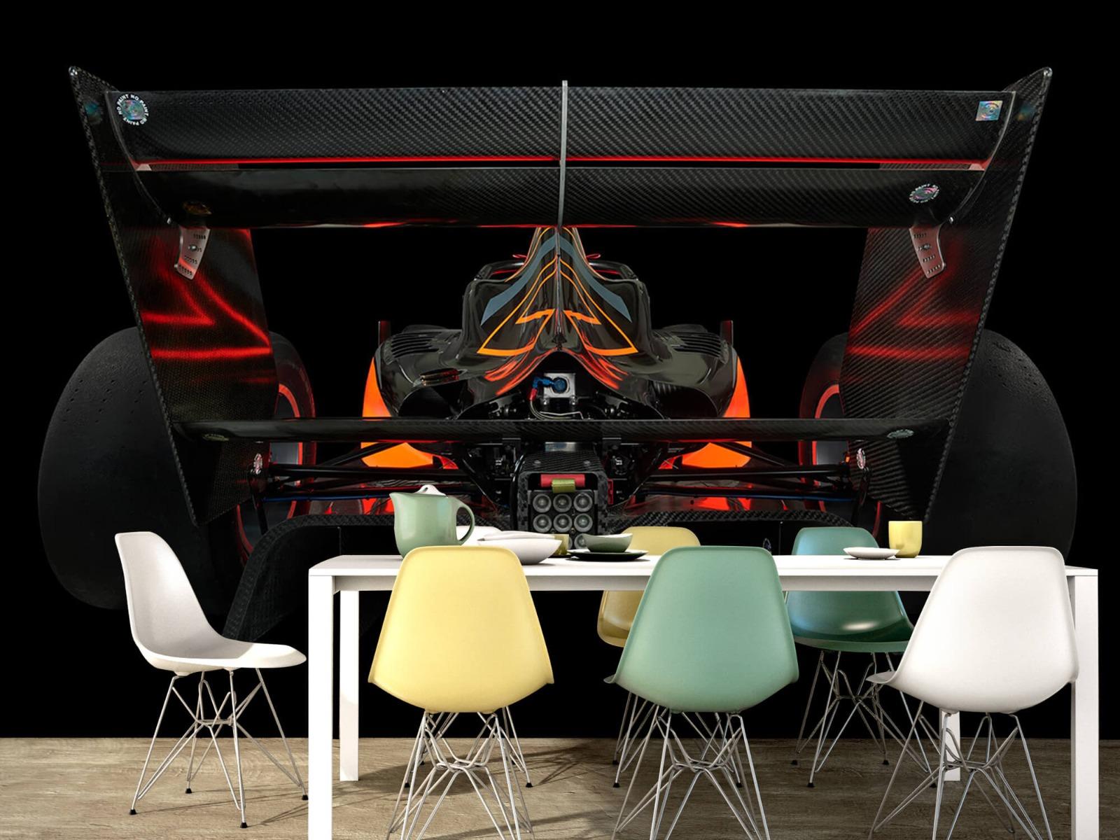 Sportauto's - Formule 3 - Lower rear view - dark - Garage 14