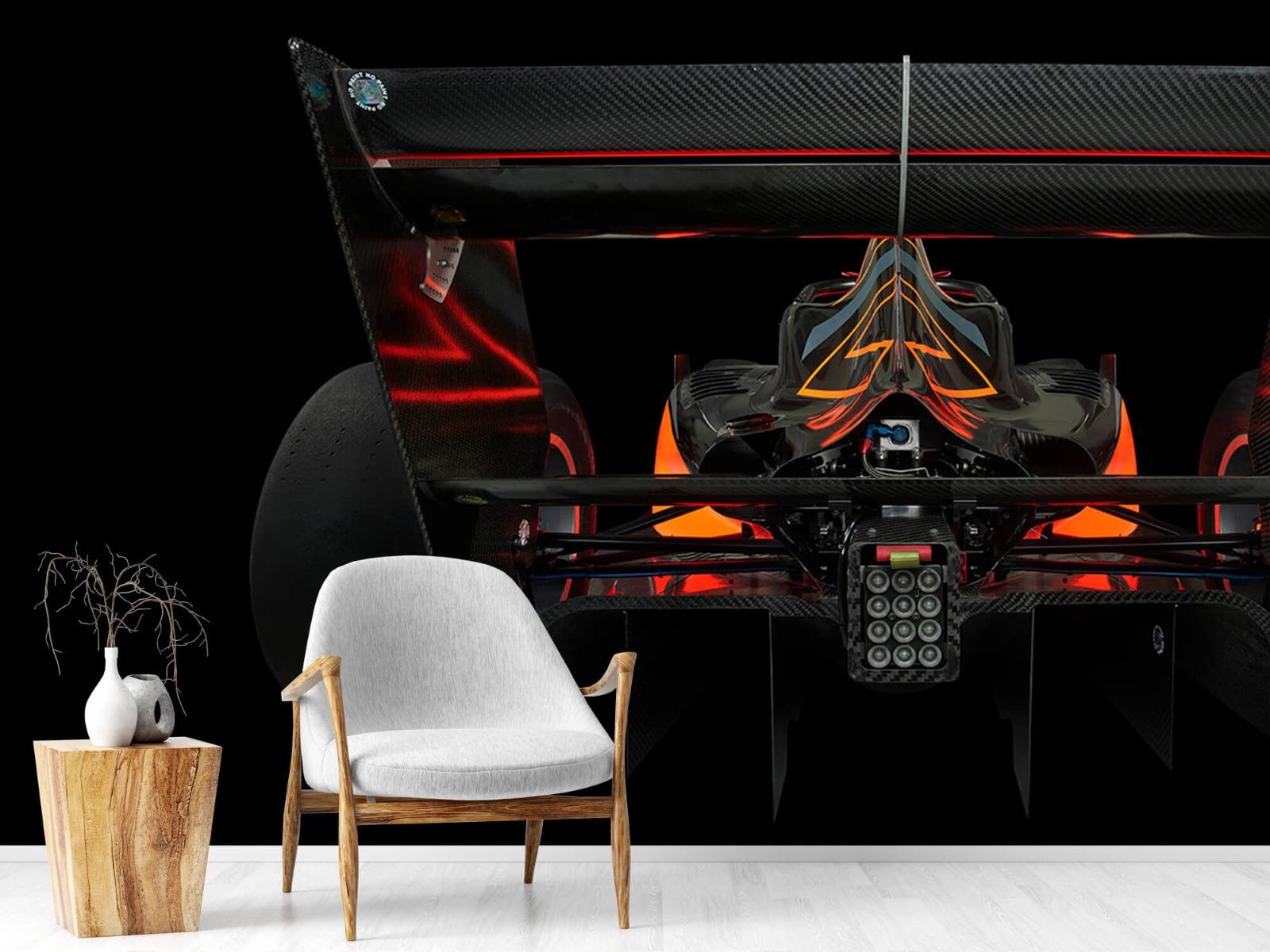 Sportauto's - Formule 3 - Lower rear view - dark - Garage 17