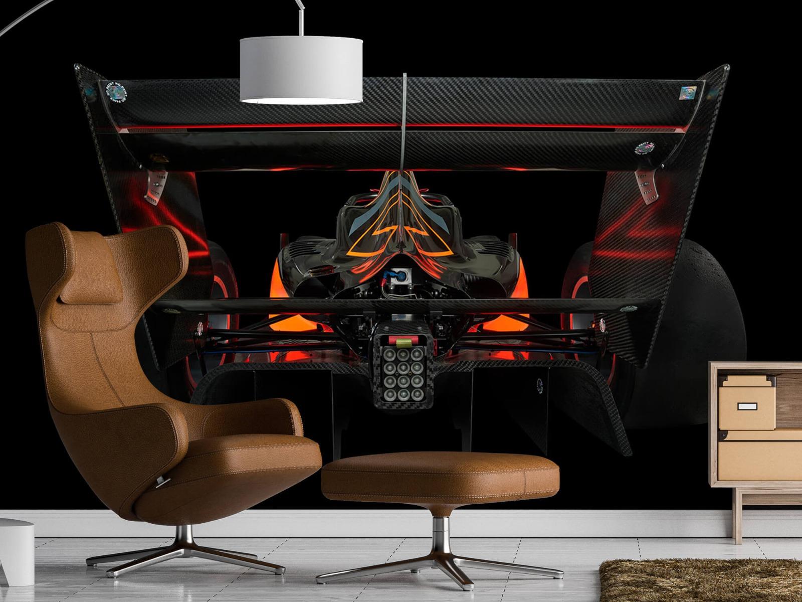 Sportauto's - Formule 3 - Lower rear view - dark - Garage 18