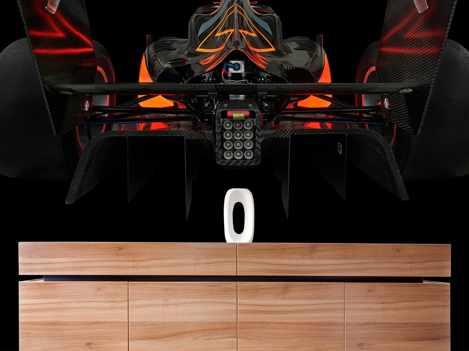 Sportauto's - Formule 3 - Lower rear view - dark - Garage 20