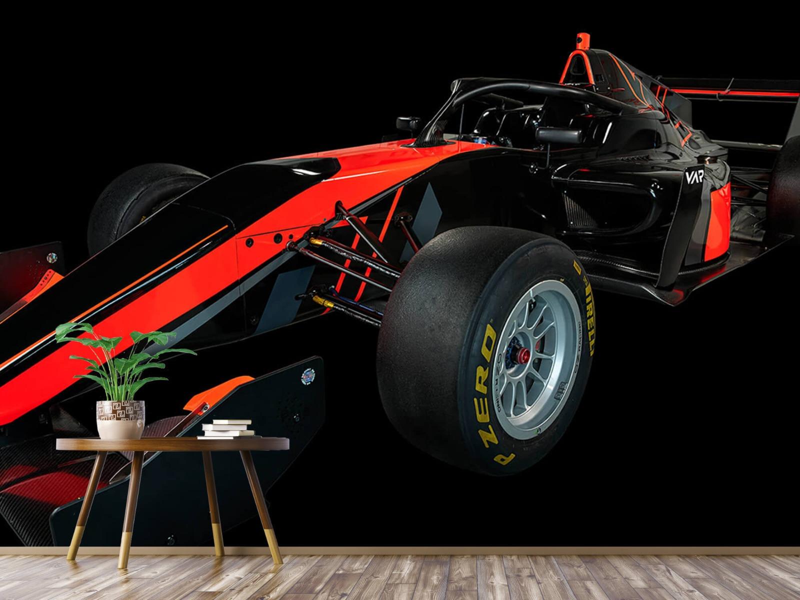 Sportauto's - Formule 3 - Left front view - dark - Vergaderruimte 3