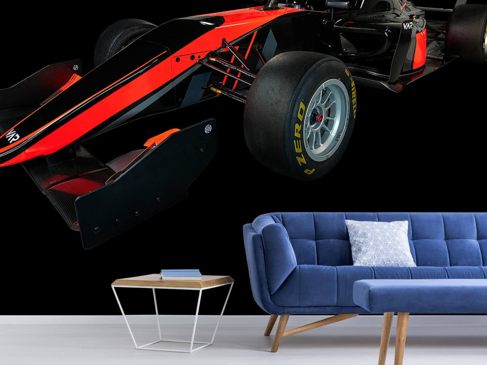 Sportauto's - Formule 3 - Left front view - dark - Vergaderruimte 4