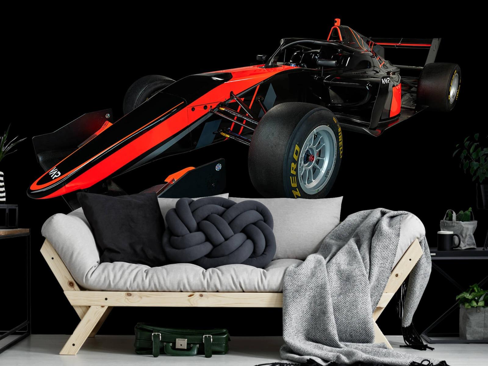 Sportauto's - Formule 3 - Left front view - dark - Vergaderruimte 6