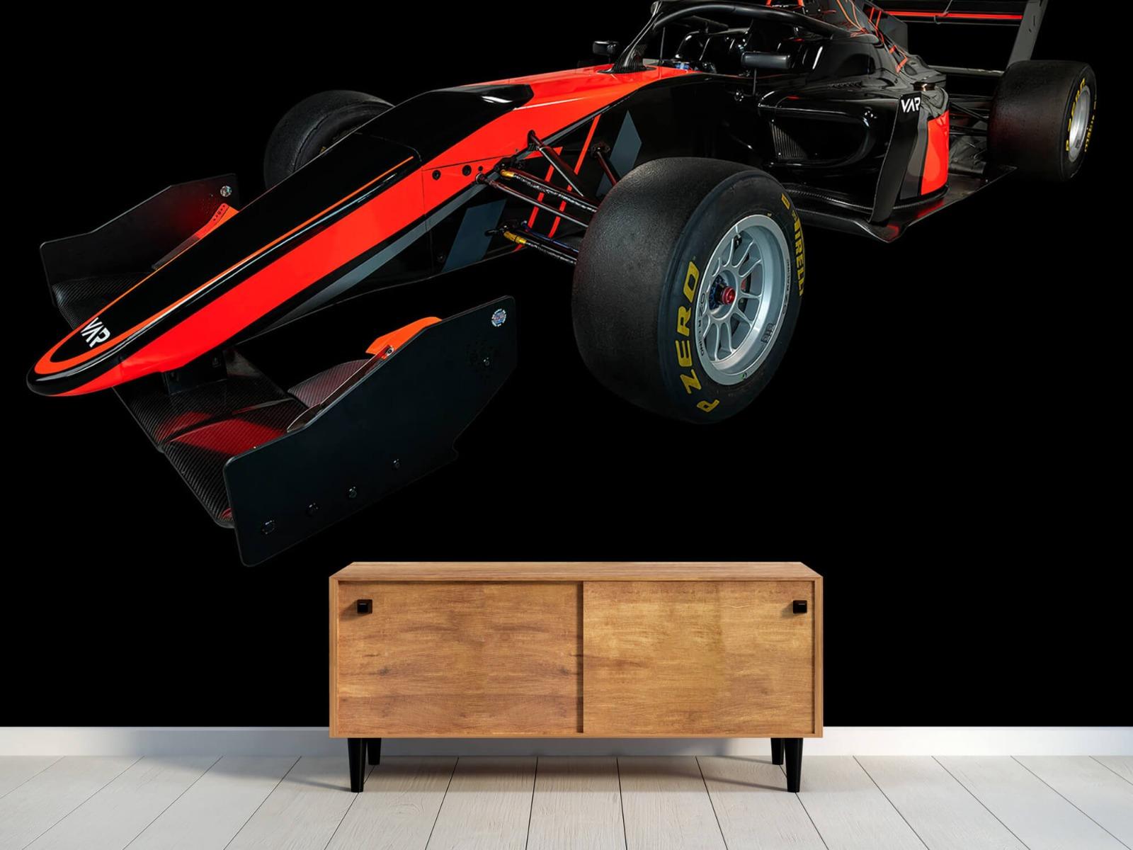Sportauto's - Formule 3 - Left front view - dark - Vergaderruimte 9