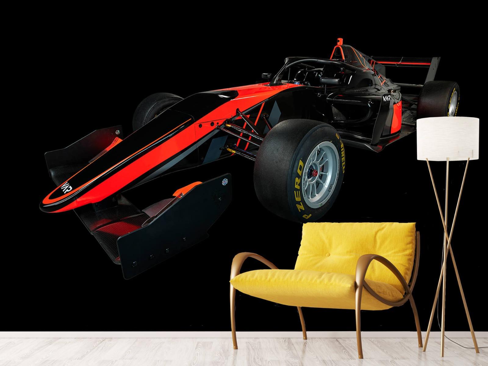 Sportauto's - Formule 3 - Left front view - dark - Vergaderruimte 10