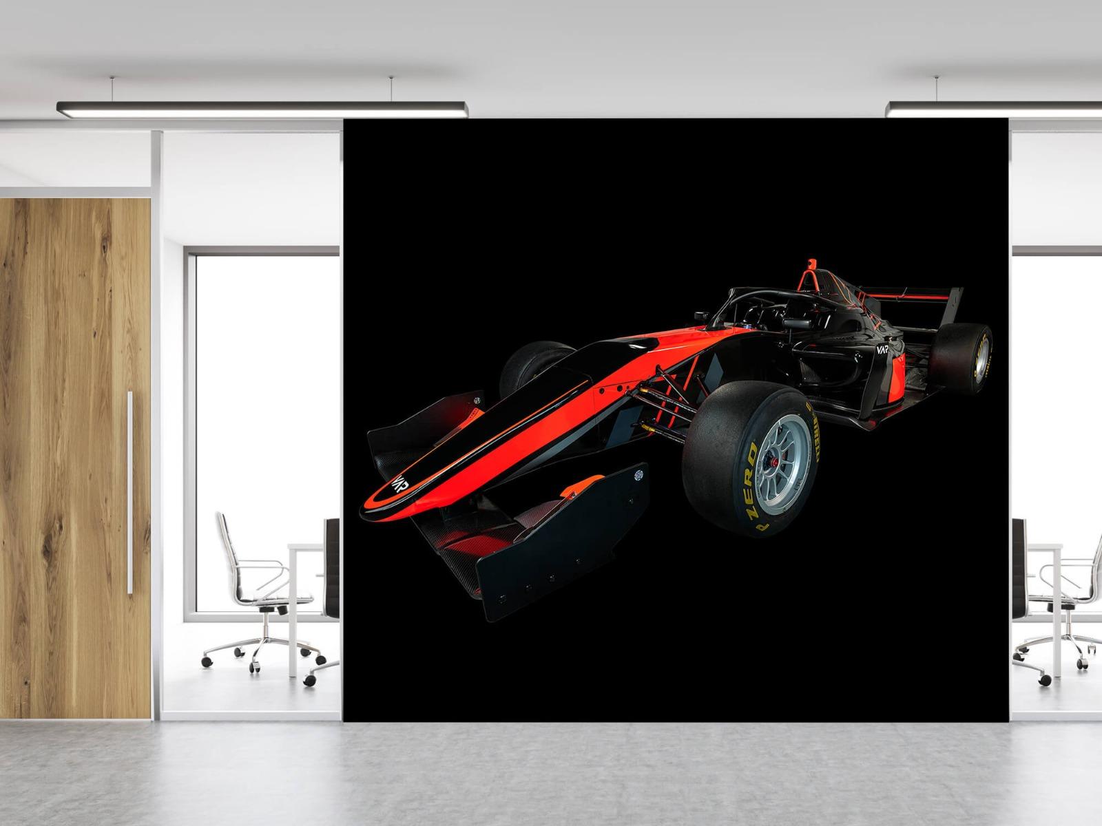 Sportauto's - Formule 3 - Left front view - dark - Vergaderruimte 11