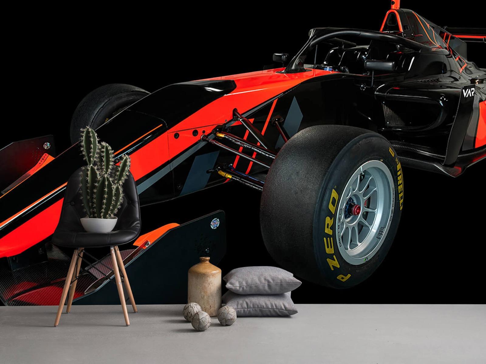 Sportauto's - Formule 3 - Left front view - dark - Vergaderruimte 13