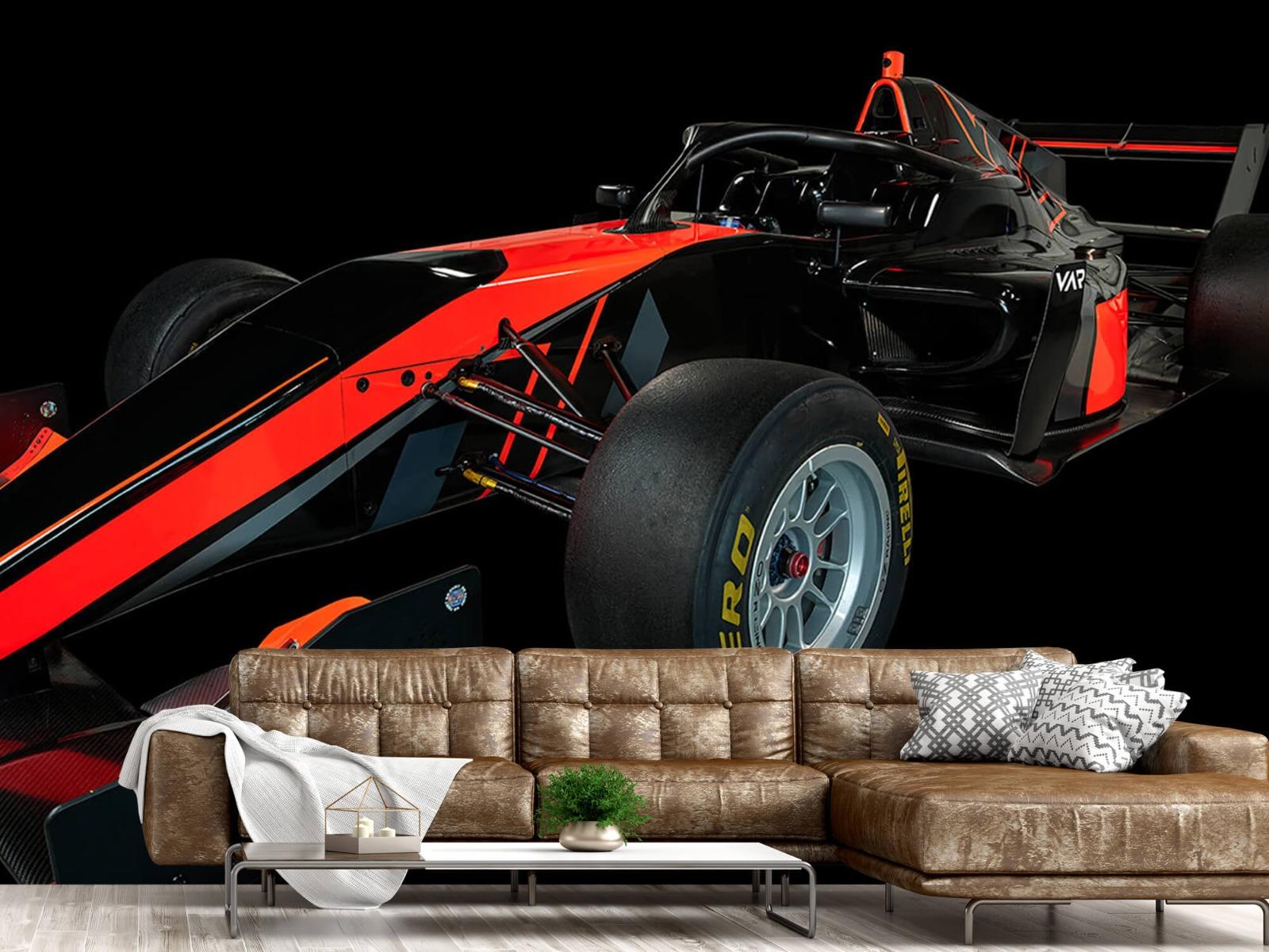 Sportauto's - Formule 3 - Left front view - dark - Vergaderruimte 14