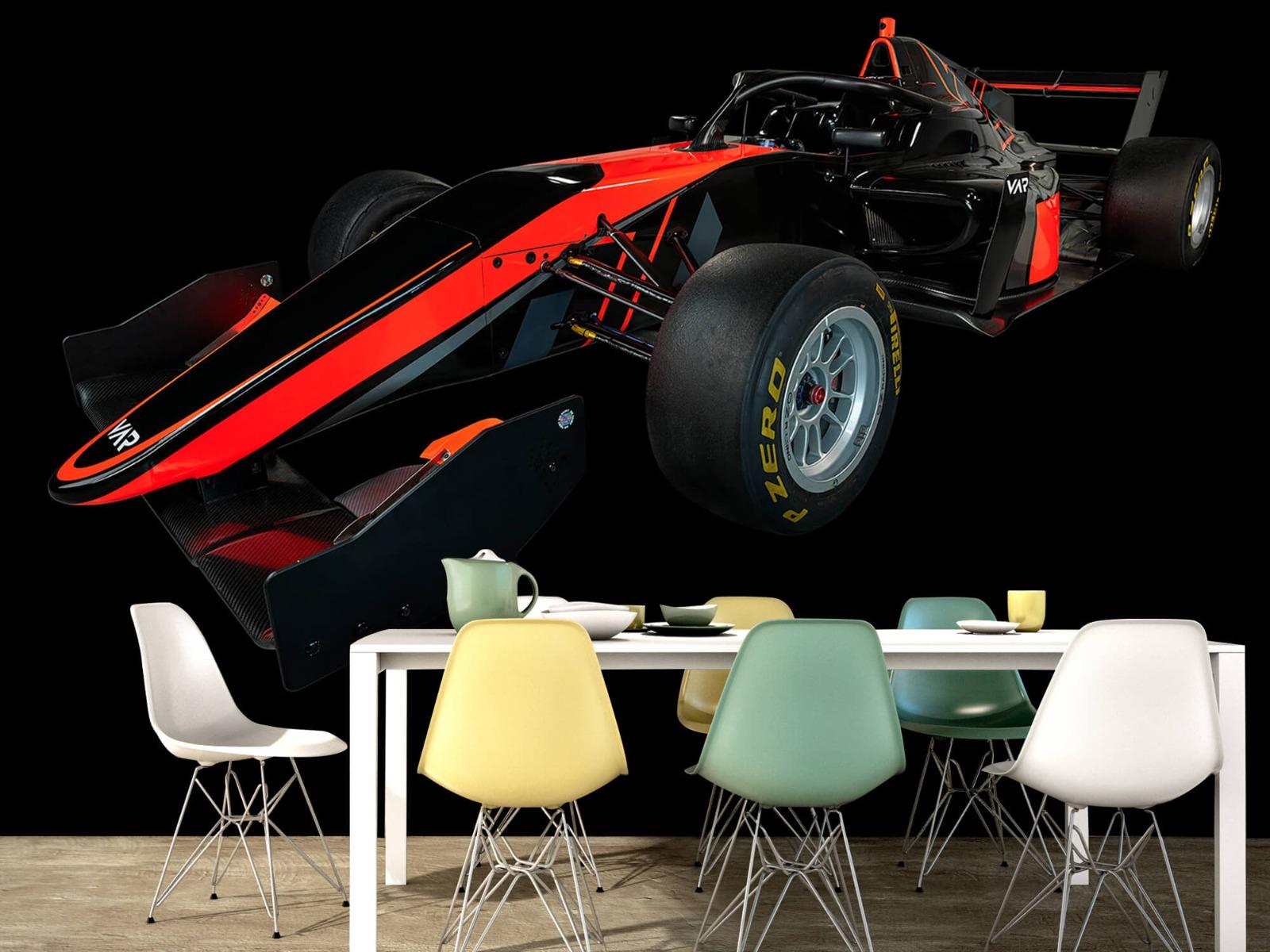 Sportauto's - Formule 3 - Left front view - dark - Vergaderruimte 15