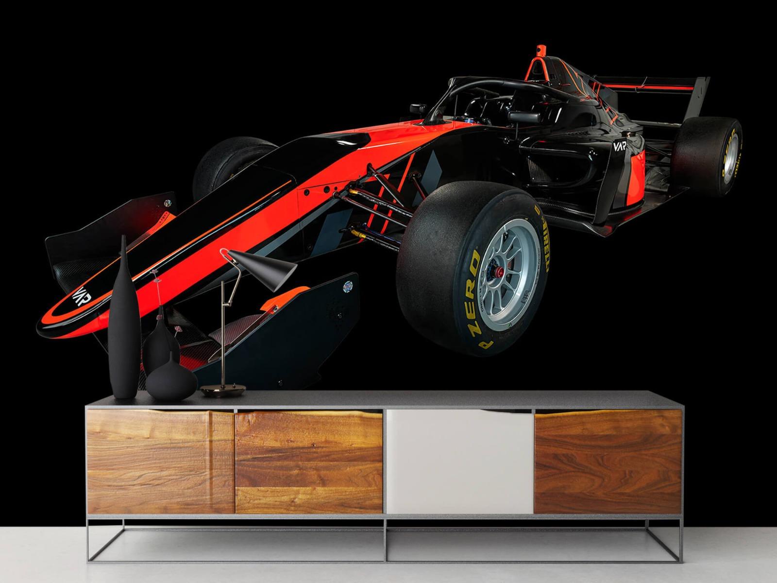 Sportauto's - Formule 3 - Left front view - dark - Vergaderruimte 16