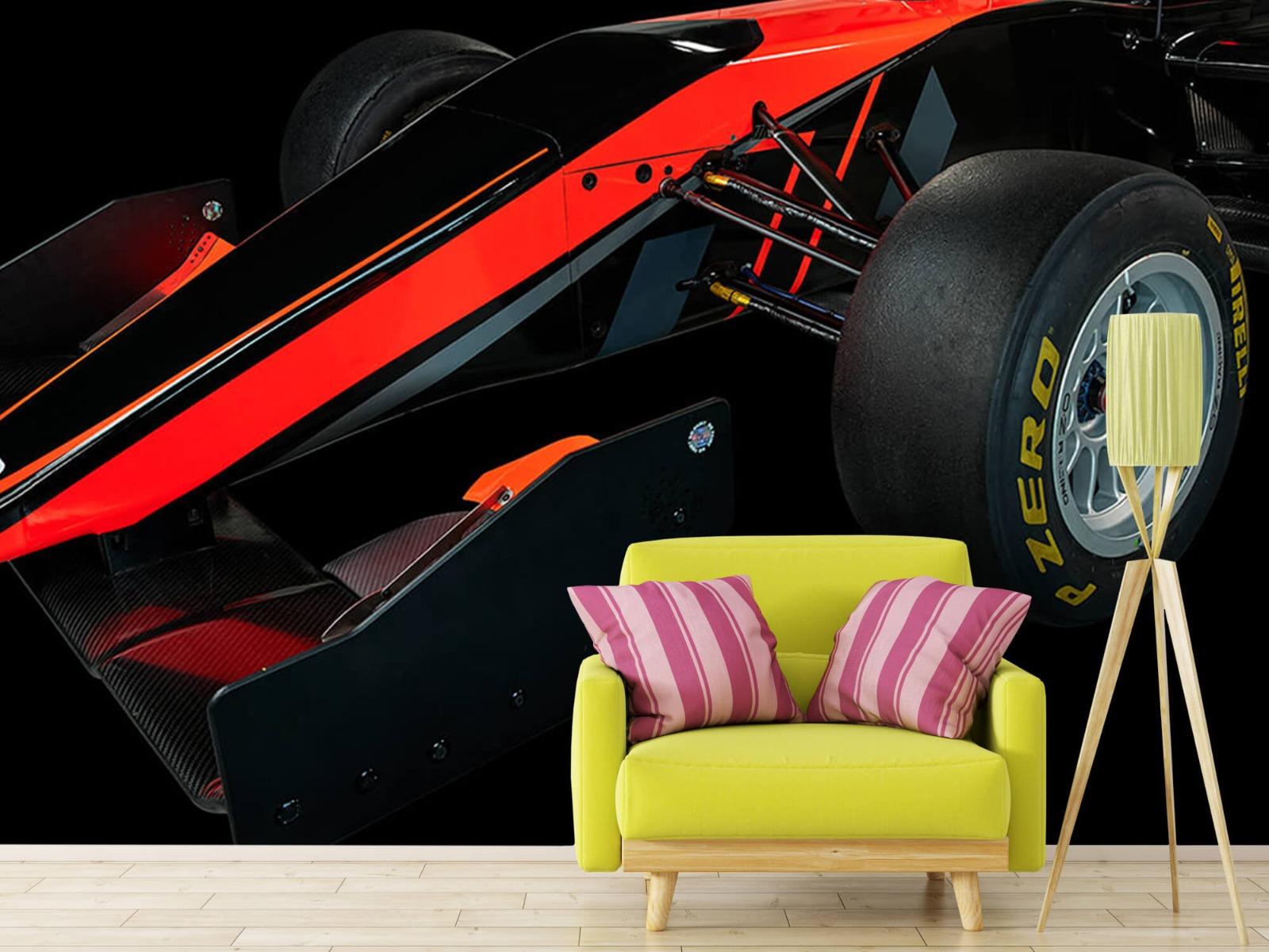 Sportauto's - Formule 3 - Left front view - dark - Vergaderruimte 17