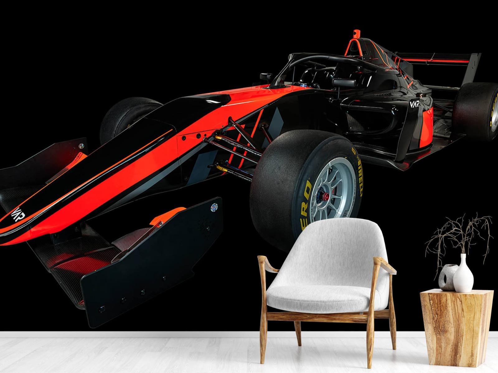 Sportauto's - Formule 3 - Left front view - dark - Vergaderruimte 18