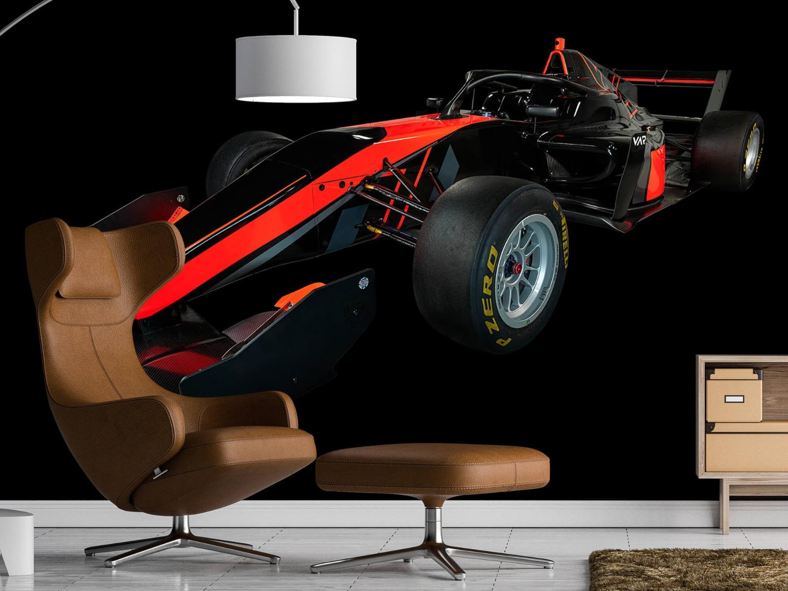 Sportauto's - Formule 3 - Left front view - dark - Vergaderruimte 19
