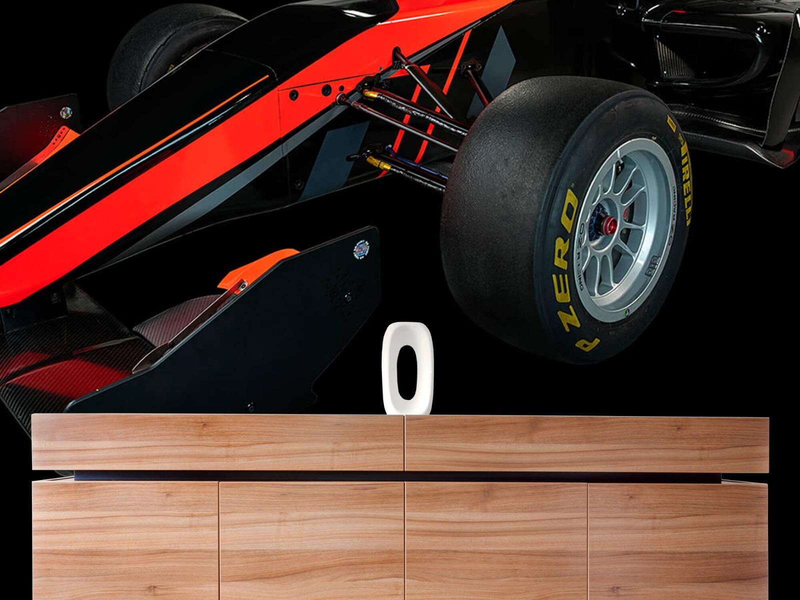 Sportauto's - Formule 3 - Left front view - dark - Vergaderruimte 20