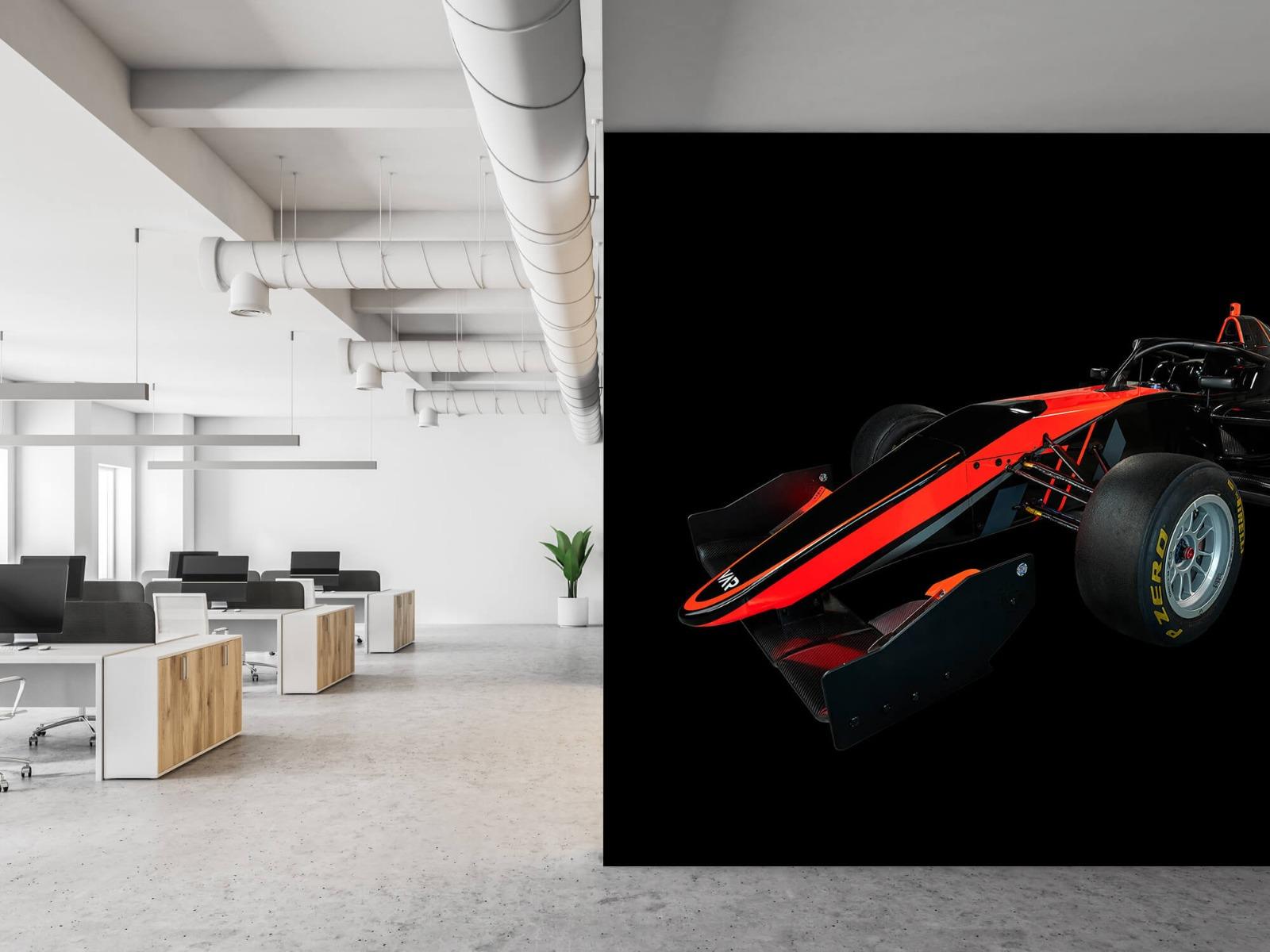 Sportauto's - Formule 3 - Left front view - dark - Vergaderruimte 21