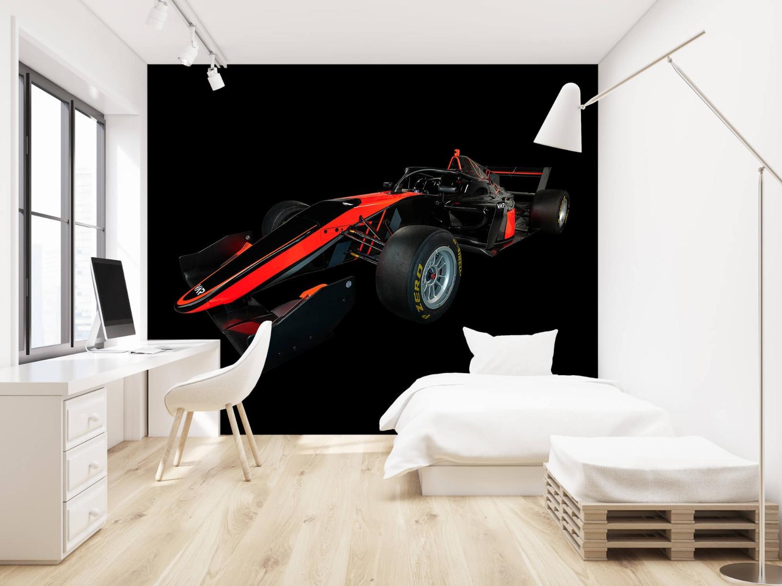 Sportauto's - Formule 3 - Left front view - dark - Vergaderruimte 22