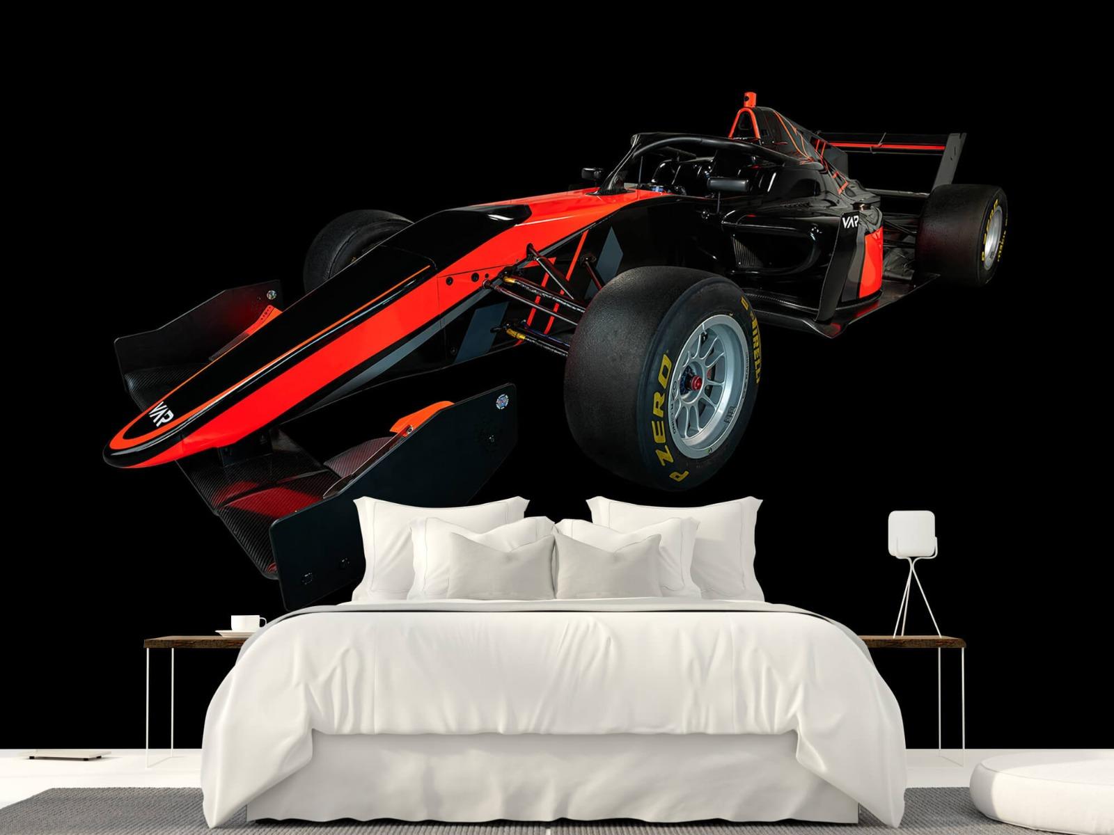 Sportauto's - Formule 3 - Left front view - dark - Vergaderruimte 23