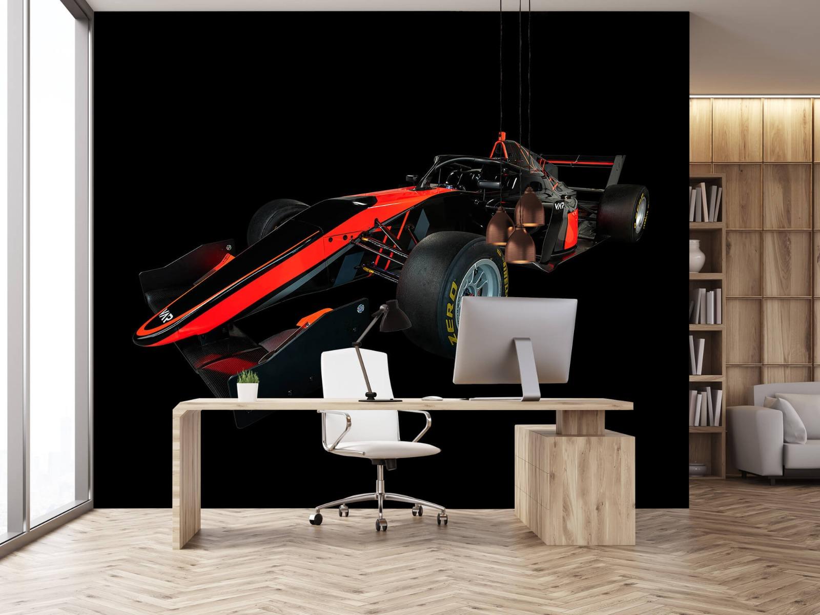 Sportauto's - Formule 3 - Left front view - dark - Vergaderruimte 24