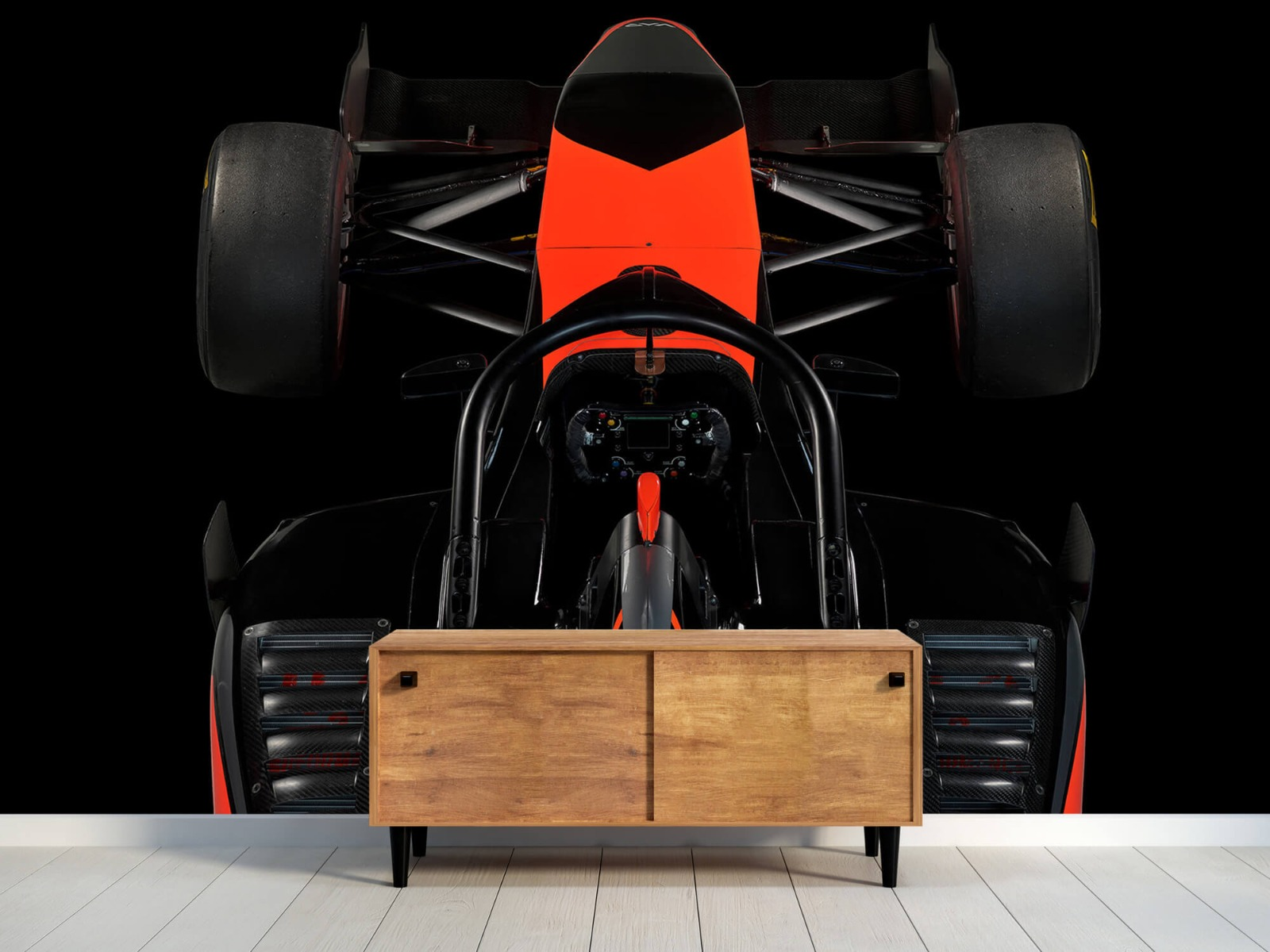 Sportauto's - Formule 3 - Cockpit view - dark - Tienerkamer 9