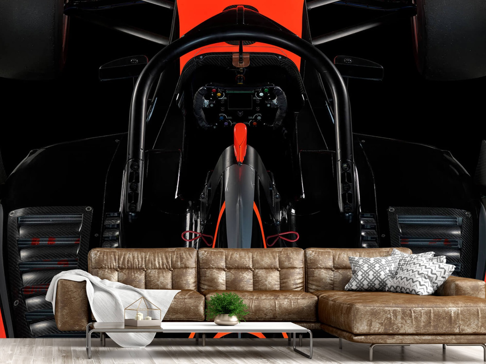 Sportauto's - Formule 3 - Cockpit view - dark - Tienerkamer 13