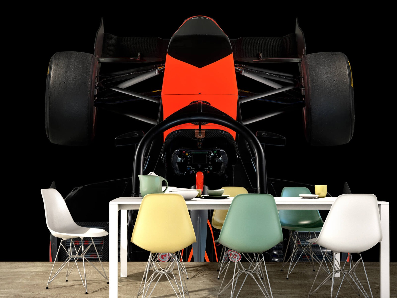 Sportauto's - Formule 3 - Cockpit view - dark - Tienerkamer 14
