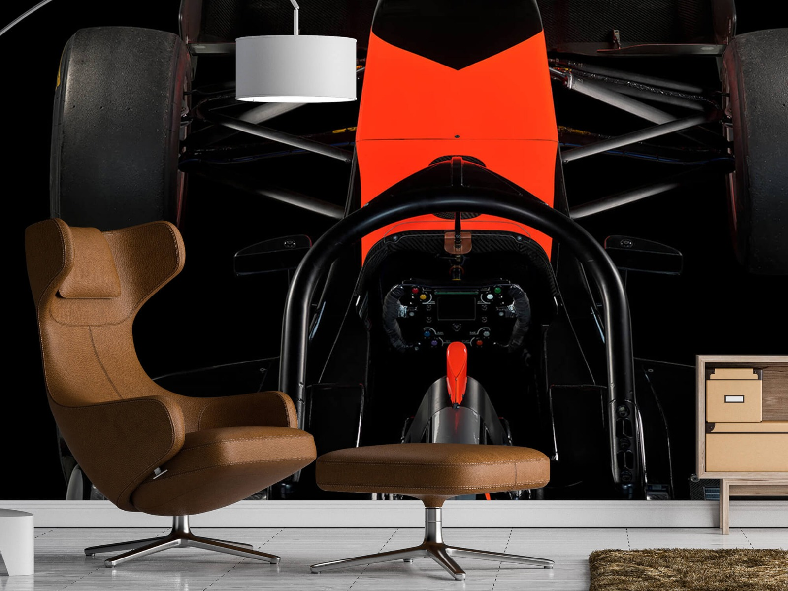 Sportauto's - Formule 3 - Cockpit view - dark - Tienerkamer 19