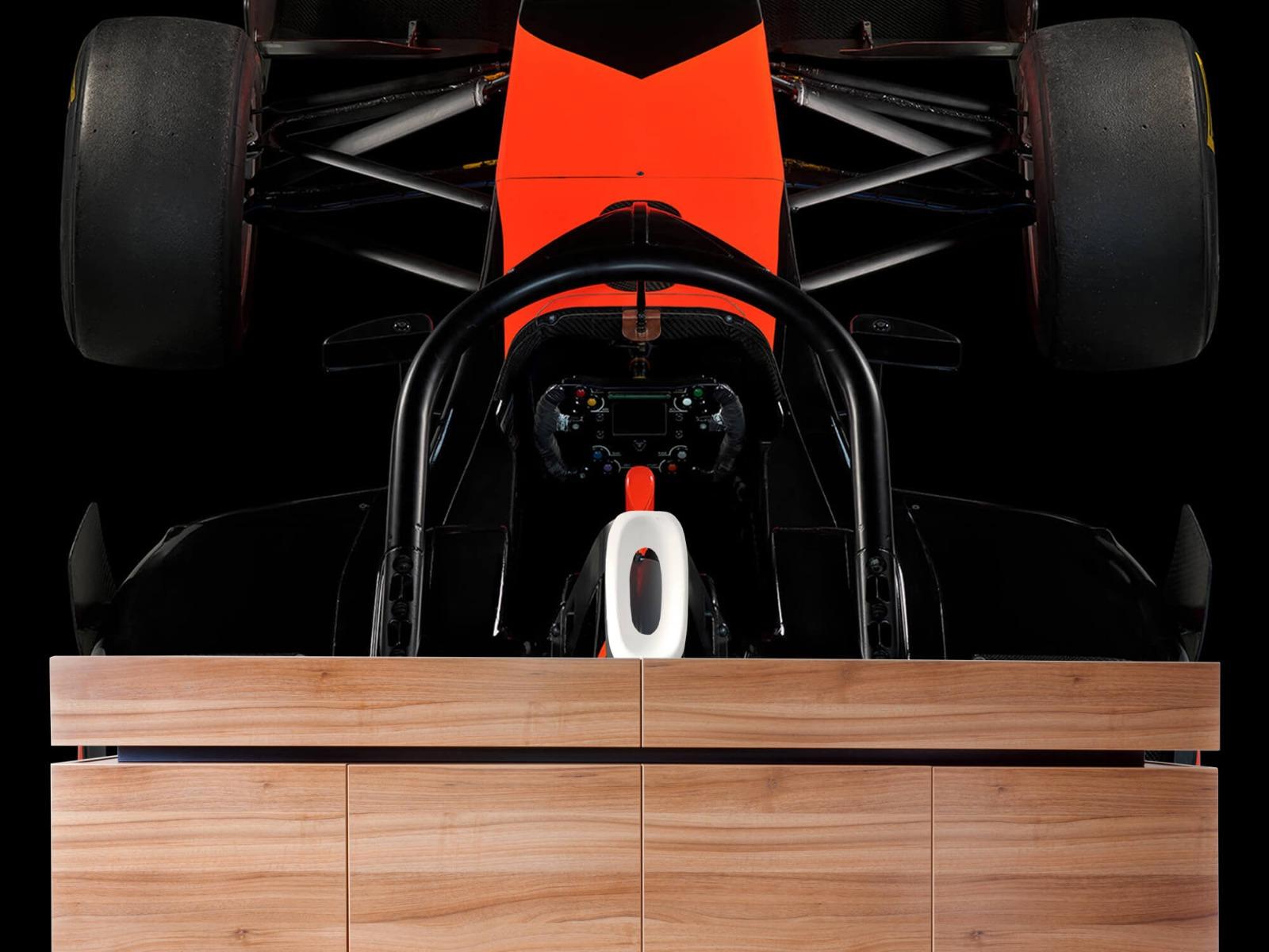 Sportauto's - Formule 3 - Cockpit view - dark - Tienerkamer 20