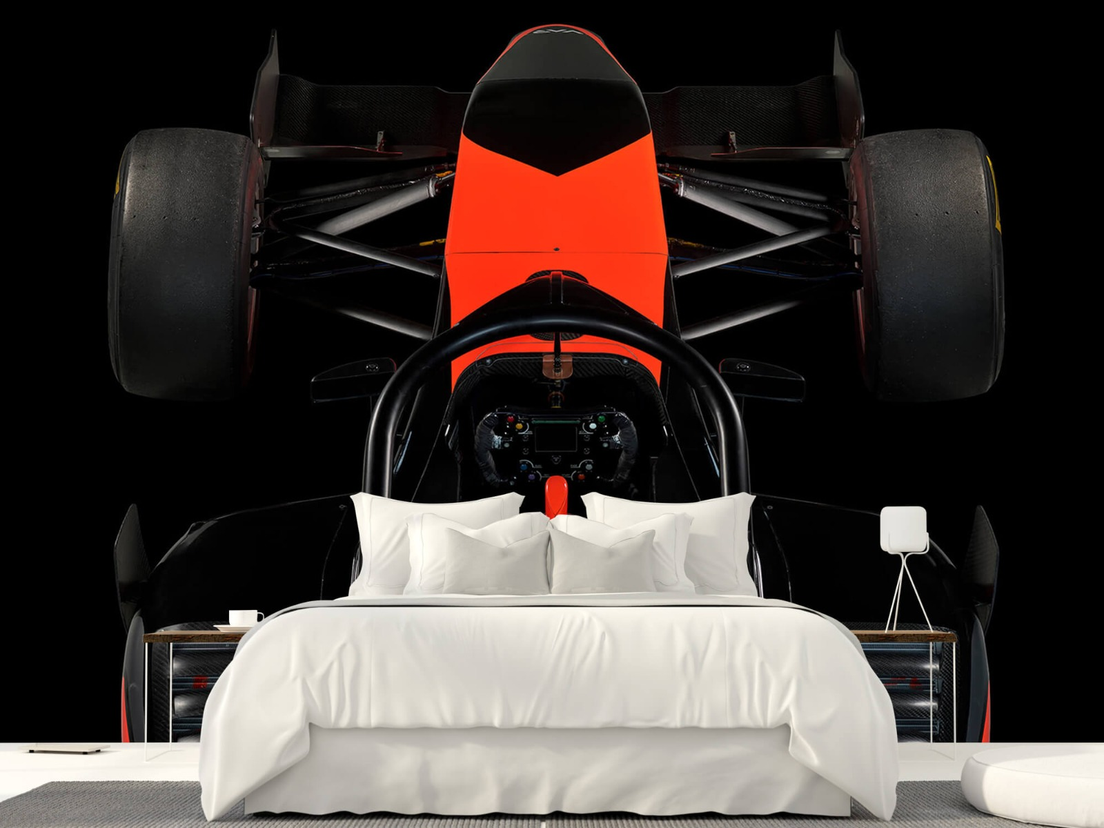Sportauto's - Formule 3 - Cockpit view - dark - Tienerkamer 23