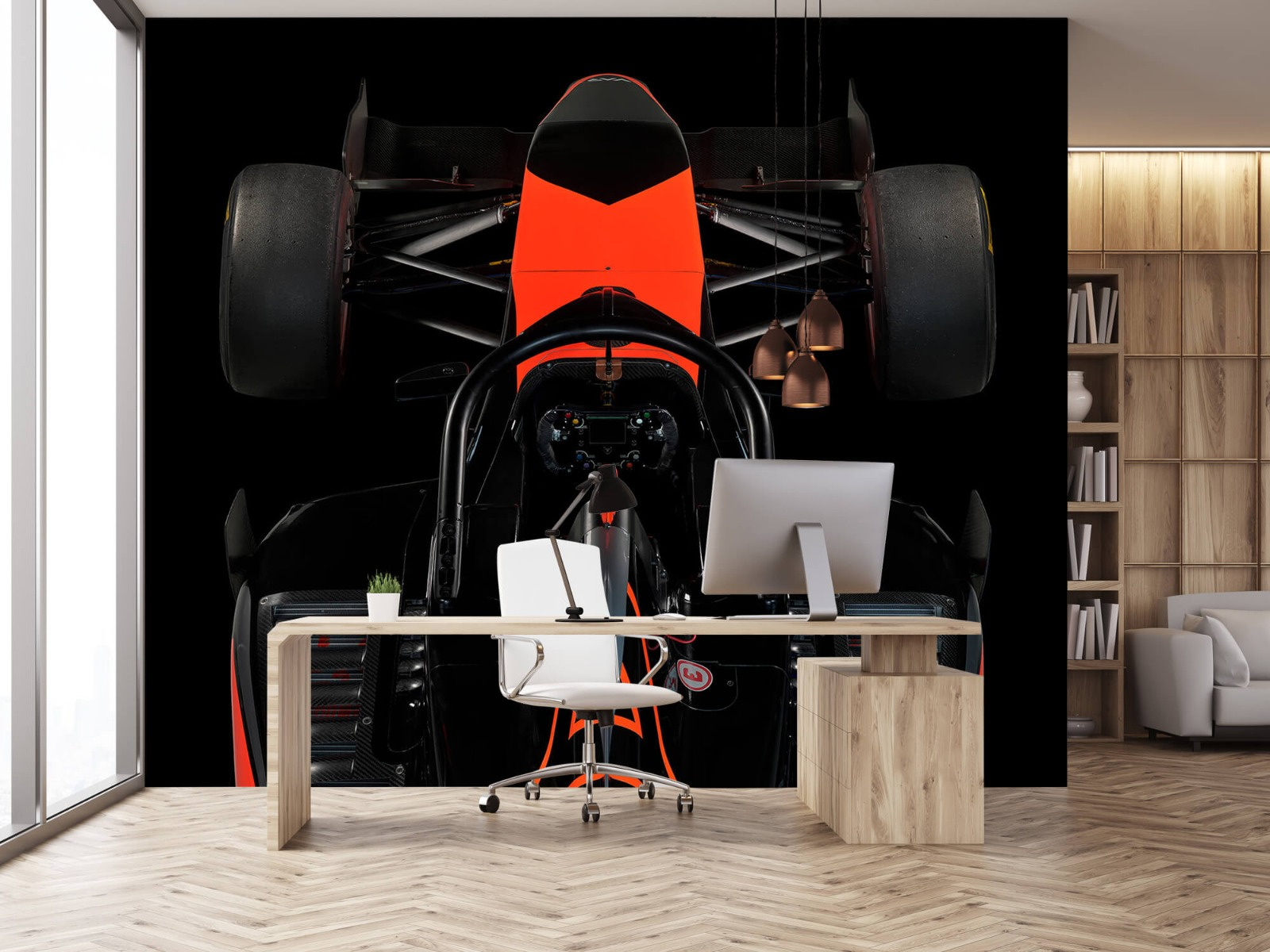 Sportauto's - Formule 3 - Cockpit view - dark - Tienerkamer 24