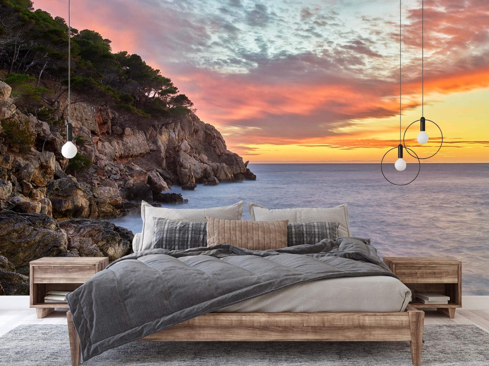 Zeeën en Oceanen - Kleurrijke zonsondergang - Slaapkamer 2