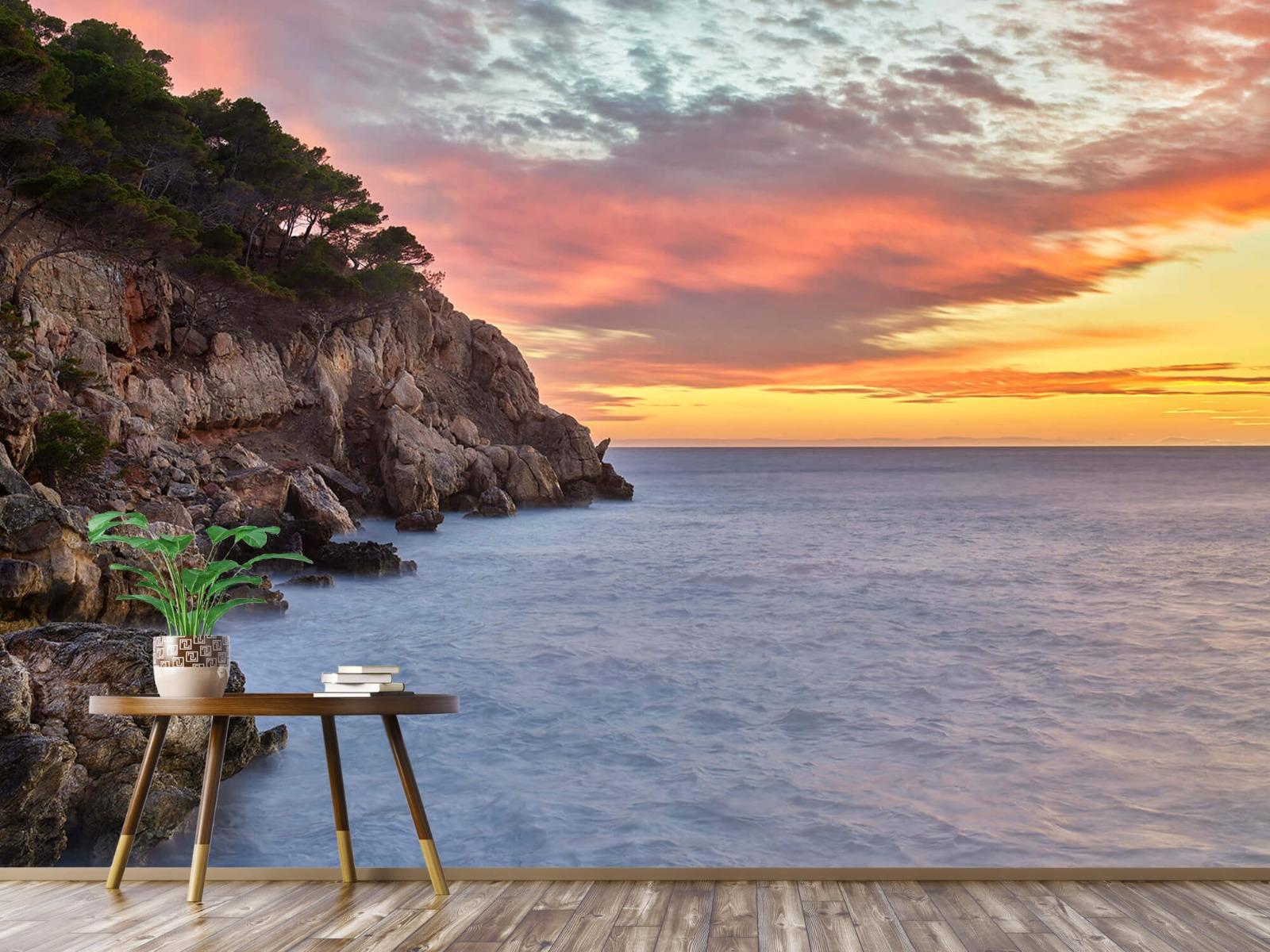 Zeeën en Oceanen - Kleurrijke zonsondergang - Slaapkamer 4