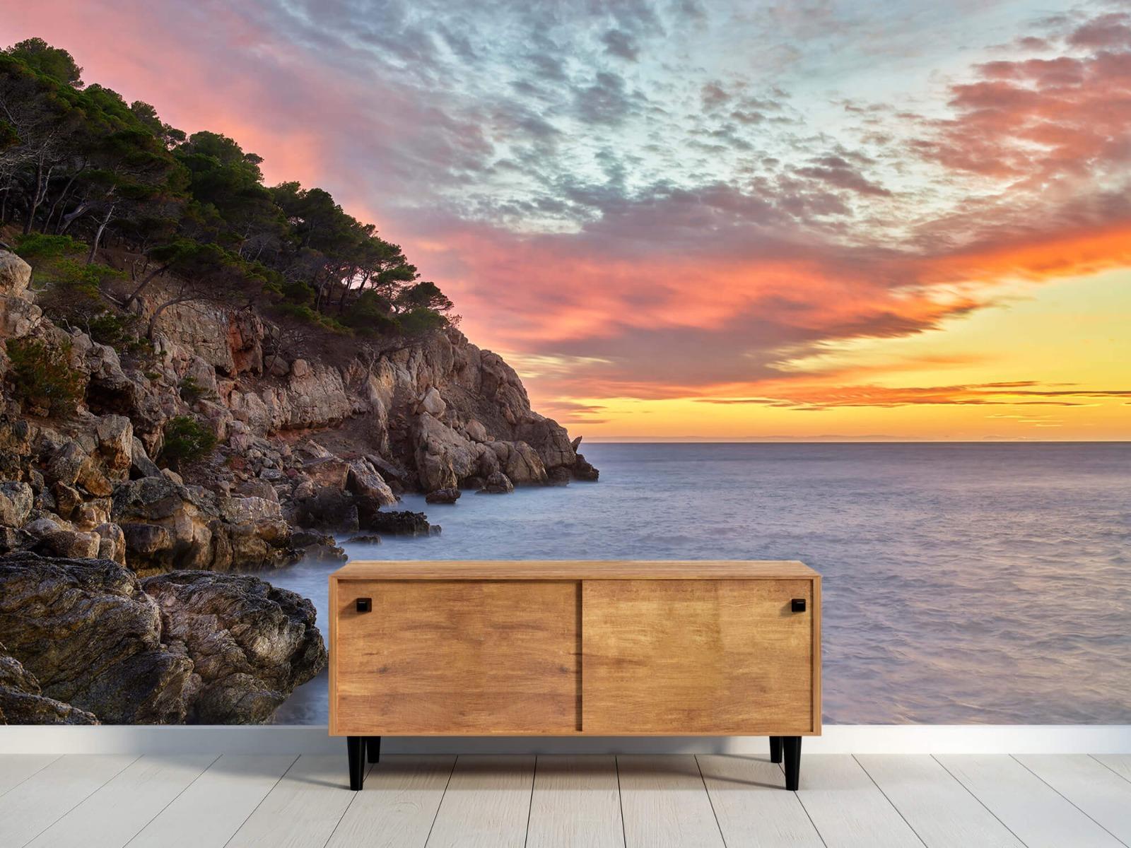 Zeeën en Oceanen - Kleurrijke zonsondergang - Slaapkamer 10