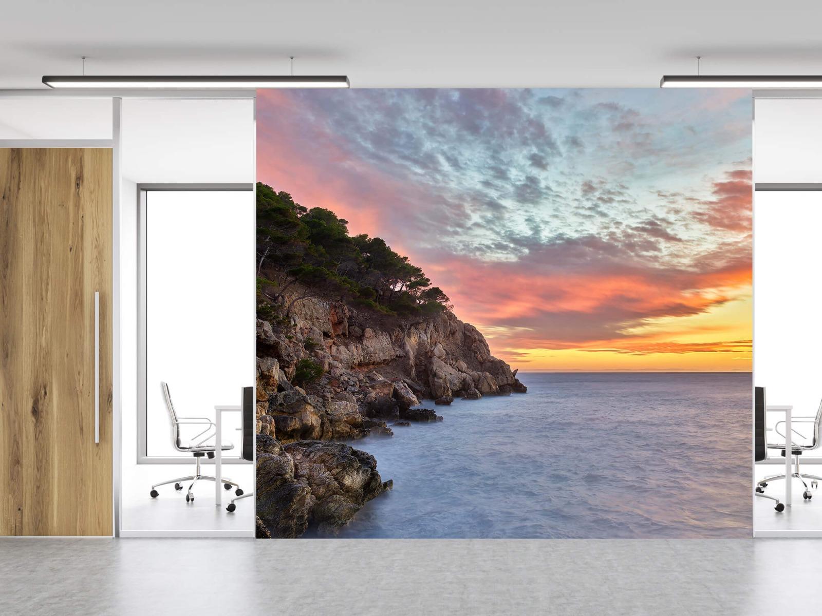 Zeeën en Oceanen - Kleurrijke zonsondergang - Slaapkamer 12